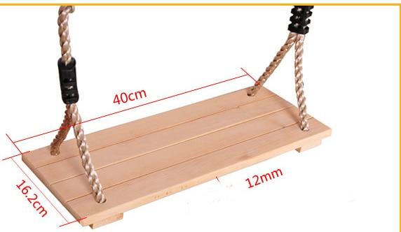 Sedie A Dondolo In Legno Per Bambini : Swinging appeso sedia a dondolo sedia di legno per bambini