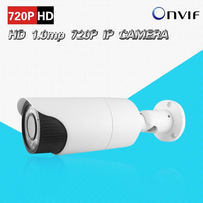 720P 1.0 mp IP camara outdoor waterproof varifocal 2.8-12mm LENs IR night CCTV security IP cam for NVR home surveillance CK-255