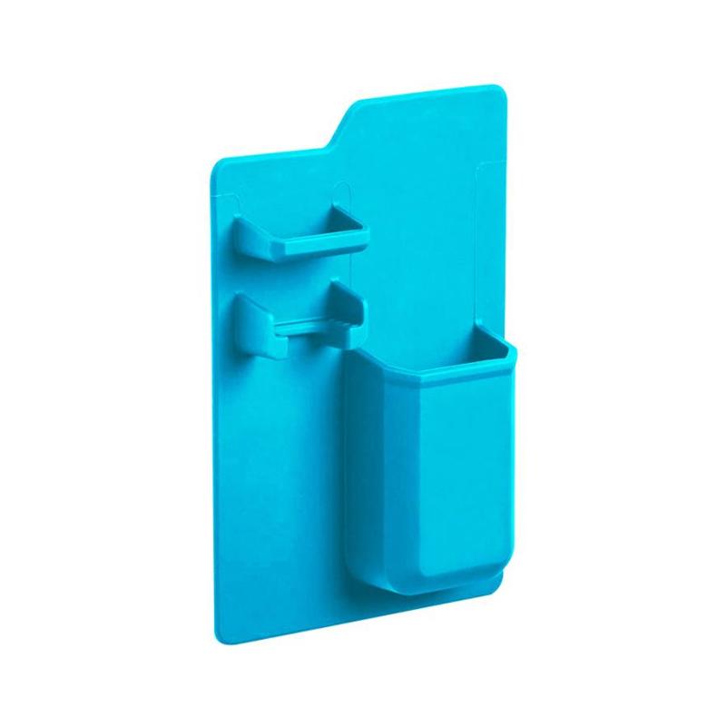 New Creative  Silicone Mighty Toothbrush Holder Baskets Bathroom Organizer Storage Space Rack Wear-resistant Holder C0321#30    01 -