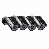Tmezon 4 шт./комплект. HD 1080 P камера видеонаблюдения системы скрытого Открытый водонепроницаемый Пуля Cam работа для AHD 1080 DVR XVR