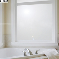 50 100cm Hsxuan Brand PVC Etched Opaque Privacy Only The FrostedGlass Window Film Bathroom Home Decor