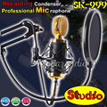 Skere SK- 999 Professional Wired Music Mic PC Karaoke Computer Broadcasting Studio Recording Condenser Microphone Microfone Mike