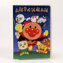 2017 Men Credit Card Holders 14*9.5cm PVC Waterproof Passport Cover for Travel Document Japanese Anime Anpanman Passport Case(China)