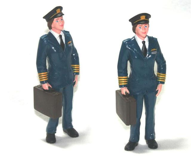 20c996e40e 5 unids/lote figura humana modelo juguetes piloto aviador 10 CM decoración  del hogar juguetes