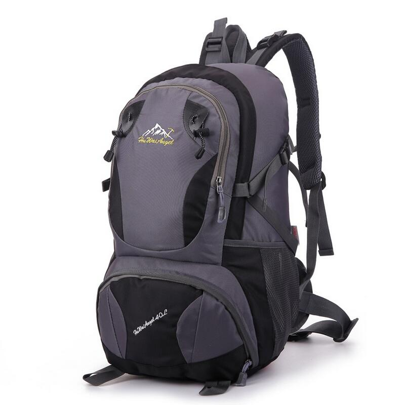 ФОТО Travel bag waterproof hiking backpack outdoor men's backpack Trekking Rucksacks 40L camping hiking equipment