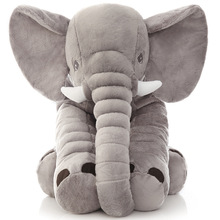 Large Size Infant Plush Elephant Soft Appease Elephant Playmate Calm Doll Baby Toy Elephant Pillow Plush Toys Stuffed Doll new lovely plush gray elephant toy creative elephant doll boyfriend pillow doll about 120cm