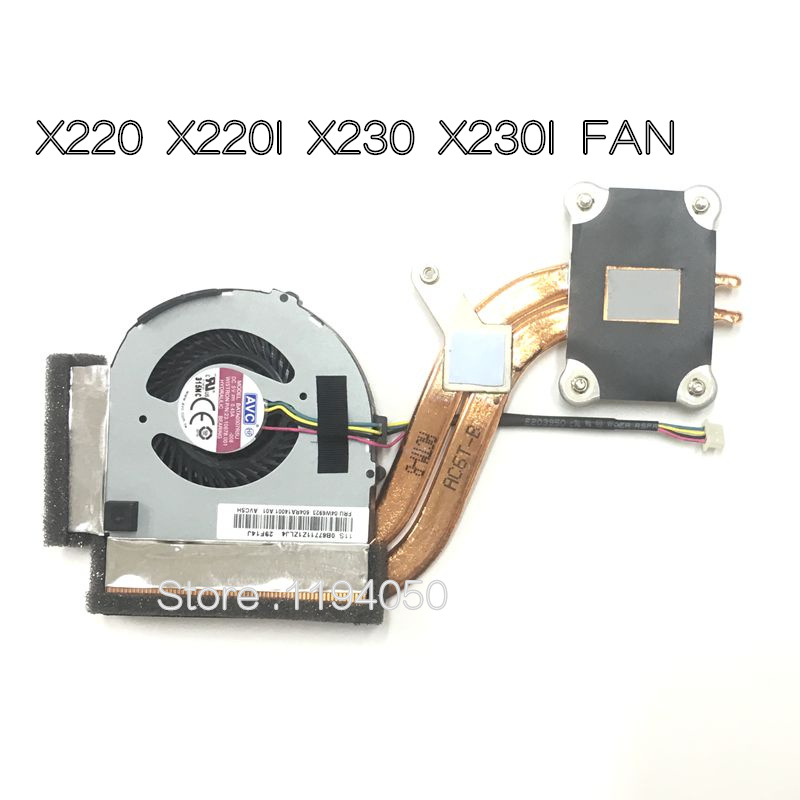 все цены на New Laptop Cooling Fan with Heatsink For Lenovo X220 X220i X230 X230I Series FRU: 04W0435 04W1774 04W6921