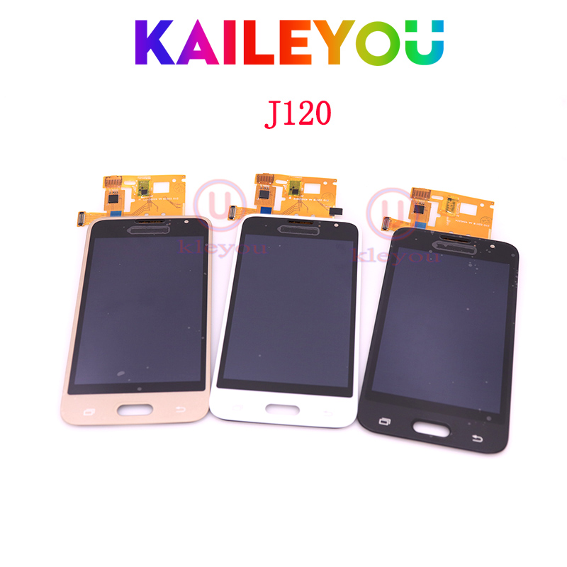 TFT For Samsung galaxy J1 2016 J120 J120f J120M J1 LCD Display touch Screen Digitizer Assembly For j120 lcd Adjustable ...