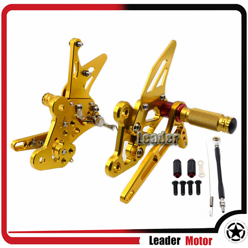 For YAMAHA MT-03 MT-25 MT03 MT25 MT 03 MT 25 2015-2016 Motorcycle Accessories Rearset Rear Foot pegs Set for yamaha mt25 mt03 mt 25 mt 03 2015 2016 balance shock front fork brace motorcycle accessories cnc aluminum