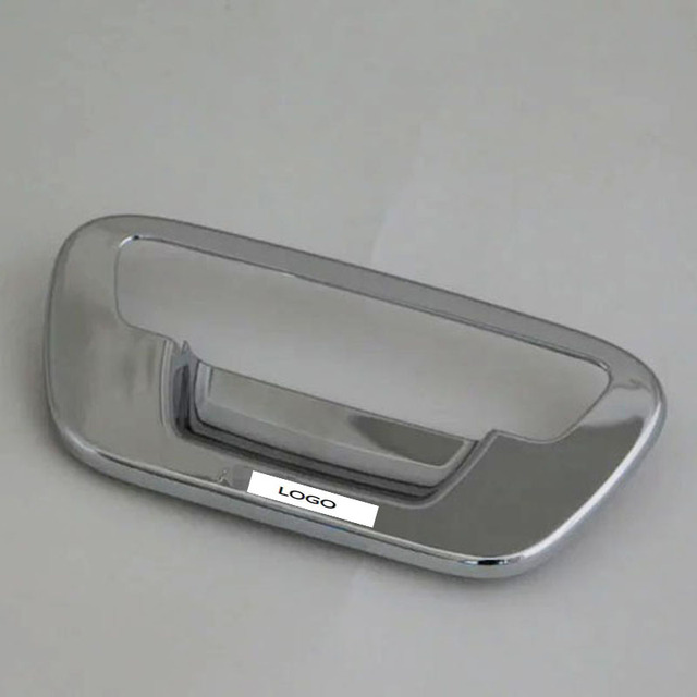 ABS Chrome Rear Door Handle Bowl Cover For Foton Tun land/Thunder 4 ...