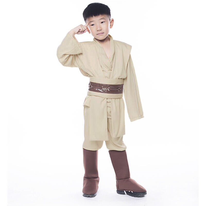 Niño Star Wars Obi Wan Kenobi Super Deluxe Jedi robe traje de ...