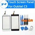 Oukitel C3 Сенсорный Экран 100% Новое Дигитайзер Стеклянная Панель Замена Для Oukitel C3 Смартфон 5.0 Дюймов