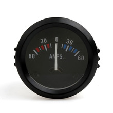 Universal 2 Inch 52mm Car Ammeter Voltmeter 60-0-60 AMP Gauge Volt Meter for Boat Truck ATV AMP Meter Measure for Cars