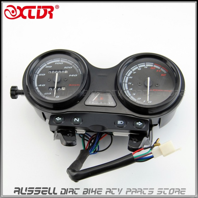 Assembly Mechanical Speedometer Tachometer Speedo Clocks For YAMAHA YBR 125 YBR125 2005-2009 OEM