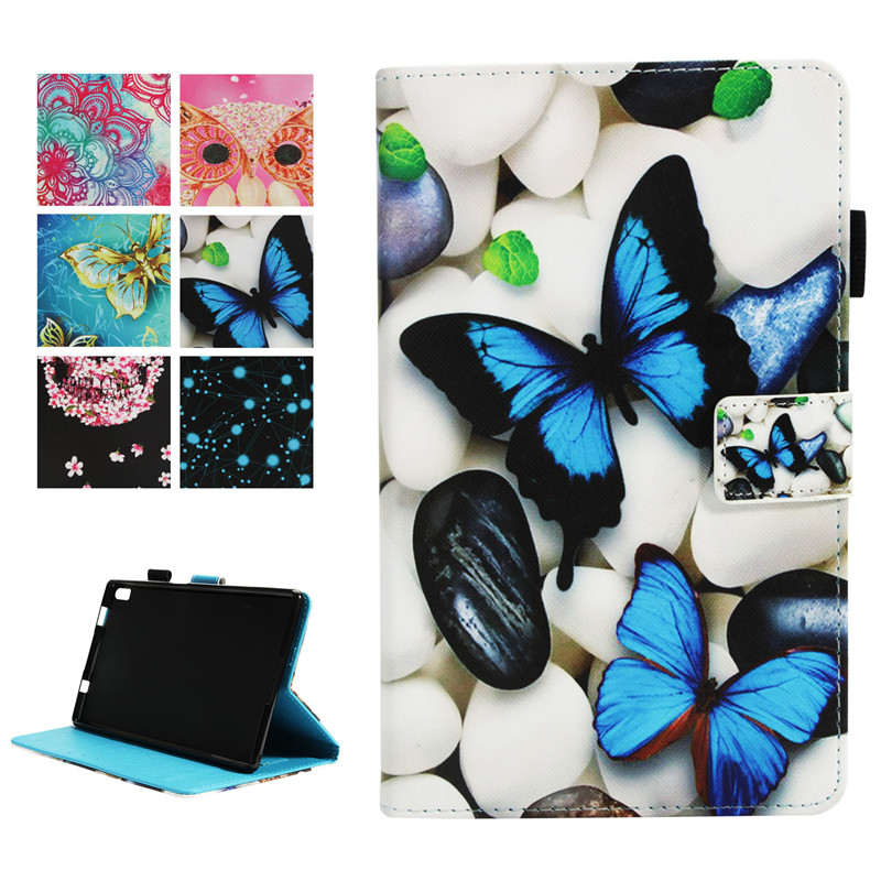 Het Beste 3d Printer Magnetische Pu Case Cover Voor Lenovo Tab4 8 Plus Tb-8704x Tb-8704f/n Tablet Cover Stand Voor Lenovo Tab 4 8 Plus Case + Pen En Om Een Lang Leven Te Hebben.