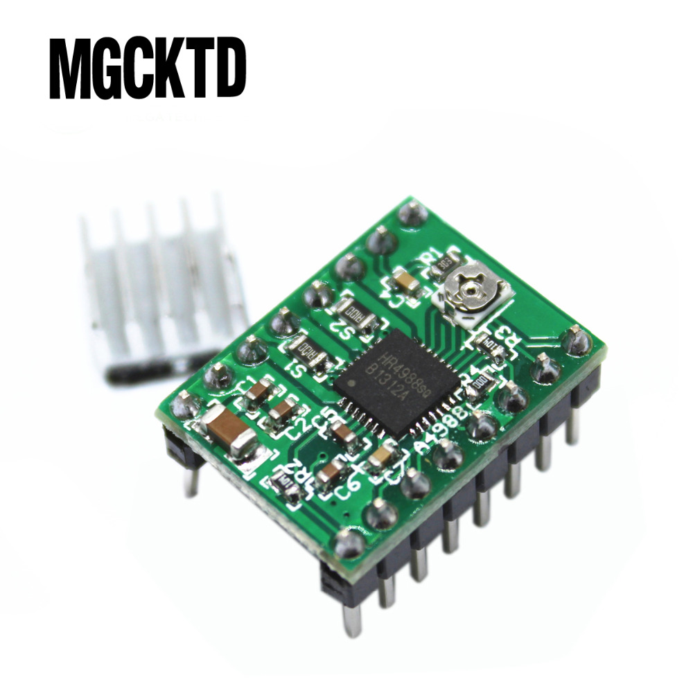 10pcs/lot Reprap Stepper Driver A4988 Stepper Motor Driver Module For 3D printer