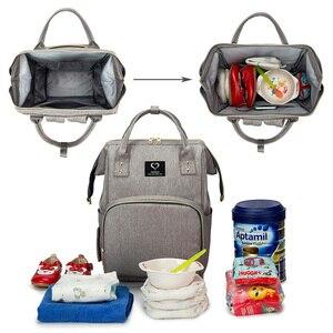 Image 3 - Torba na pieluchy dla niemowląt plecak dla mamy torby na pieluchy mumia torba na pieluchy macierzyńskie o dużej pojemności wodoodporna torba podróżna do wózka
