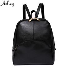 Aelicy Women Backpack Softback Preppy Style Girls school bags Casual Teenagers Backpack 2019 mochila feminina dropship hot sale