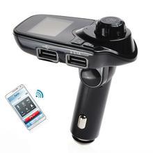 International Bluetooth FM Transmitter Car Mp3 player Handsfree Car Kit Radio Stereo Adapter In-car Bluetooth Receiver Handsfree
