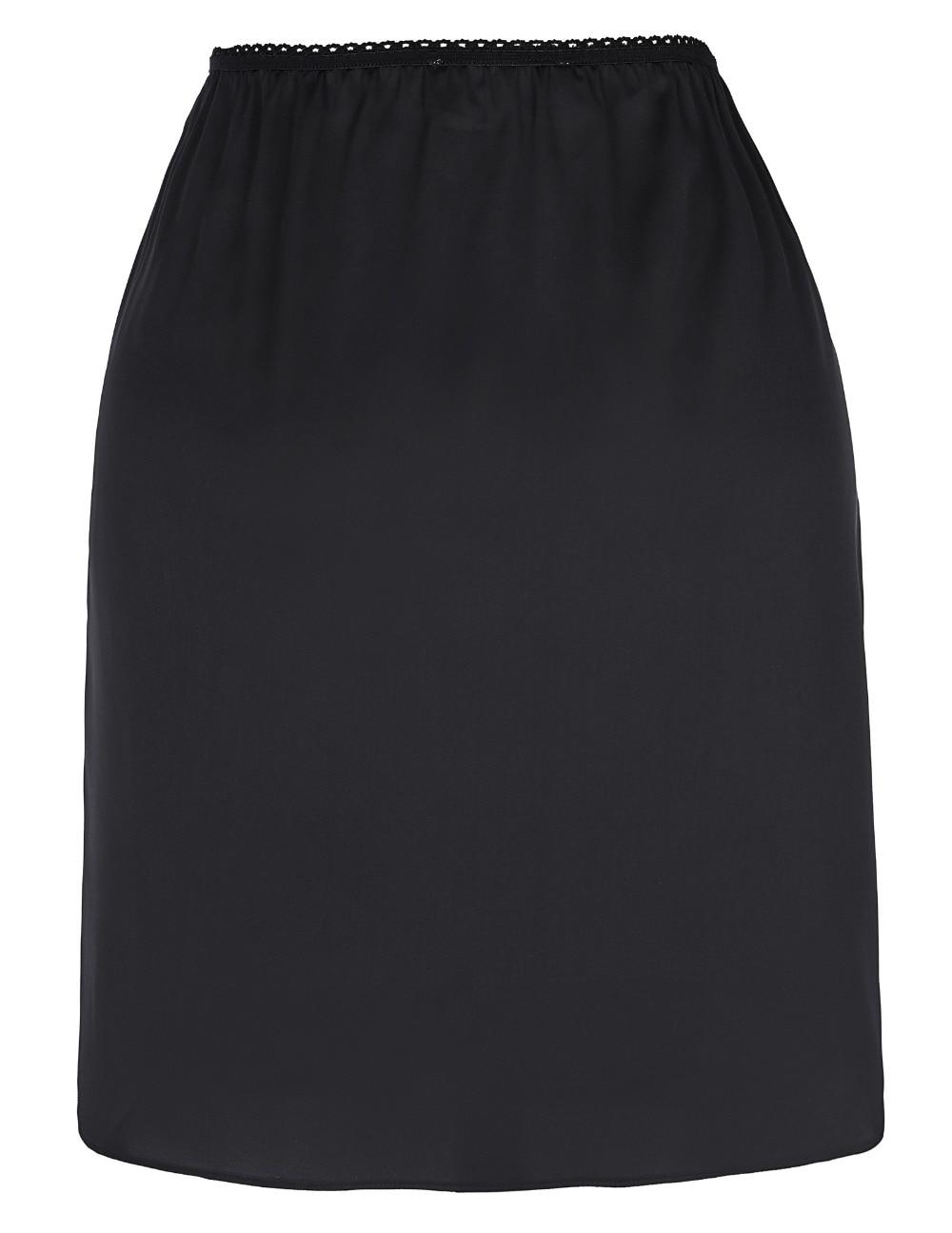 Popular Black Satin Pencil Skirt-Buy Cheap Black Satin Pencil ...