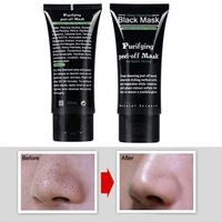 Blackhead Remove Facial Masks Deep Cleansing Purifying Peel Off Black Nud Facail Face black Mask For Dropshipping