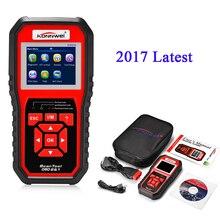 KONNWEI 2017 Date OBD II Scanner KW850 OBD Scanner Automotivo Lecteur de Code De Diagnostic-Outil pour voiture Soutien 8 langues