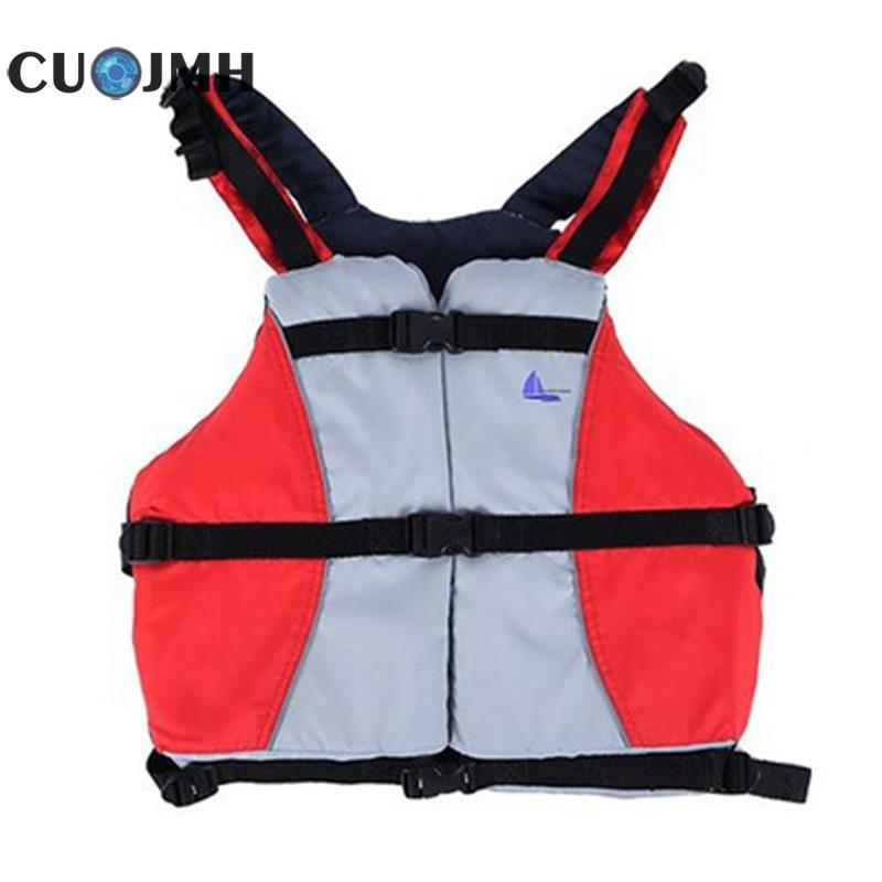 Safety Vest Outdoor Polyester Water Sports Lifejacket Swimming Boating Safety Women Man Life Vest Floating Clothing sutia adesivo v7720 women sports clothing