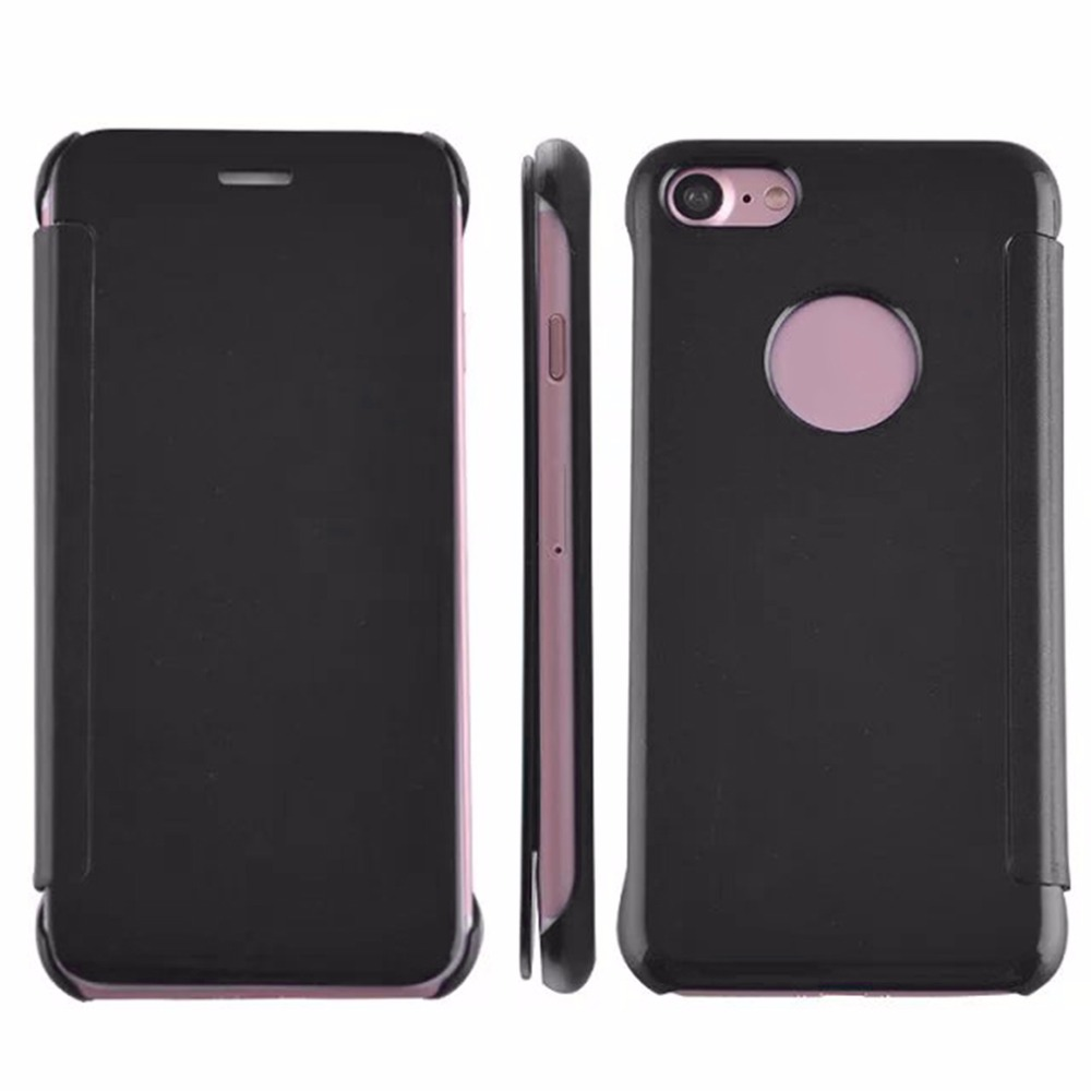 Electroplated Mirror Metal Frame Smart Phone Case Cover Phone Protective Back Case Cover Suitable For iPhone7plus