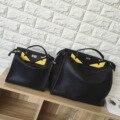 2017 de Alta qualidade de design de moda clássico paródia de olhos do monstro dos desenhos animados ocasional saco totes bolsa bolsa de ombro das mulheres bolsa das senhoras