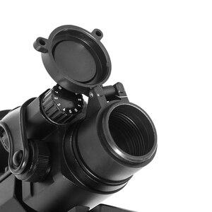 Image 5 - LUGER 홀로그램 레드 닷 시력 M2 20mm 레일 마운트 콜리메이터 시력 에어건 사냥과 사냥 광학 소총 범위