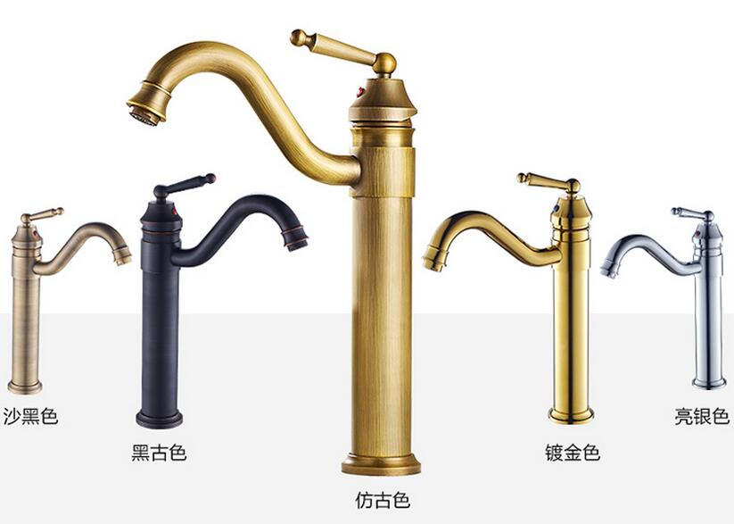 Bathroom Basin Faucet torneira Brass Retro Basin mixer Arts Counter Basin Hot and cold Mixer antique faucet water Taps torneira bathroom faucet into the wall cold and hot water taps embedded type mixer double handles table basin wash basin faucet torneira