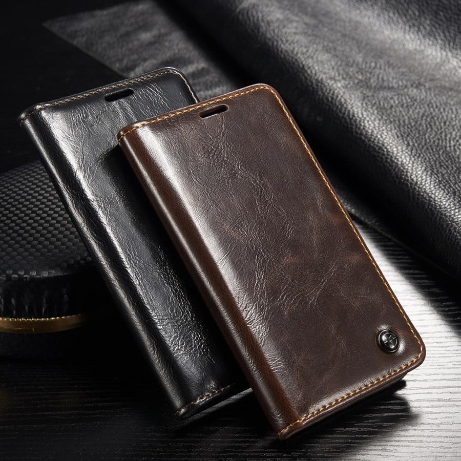 Luxe D'origine Téléphone Cas la sfor Fundas Samsung Galaxy S5 cas pour Coque Samsung S5 mini G800 Auto Magnétique Flip Portefeuille couverture