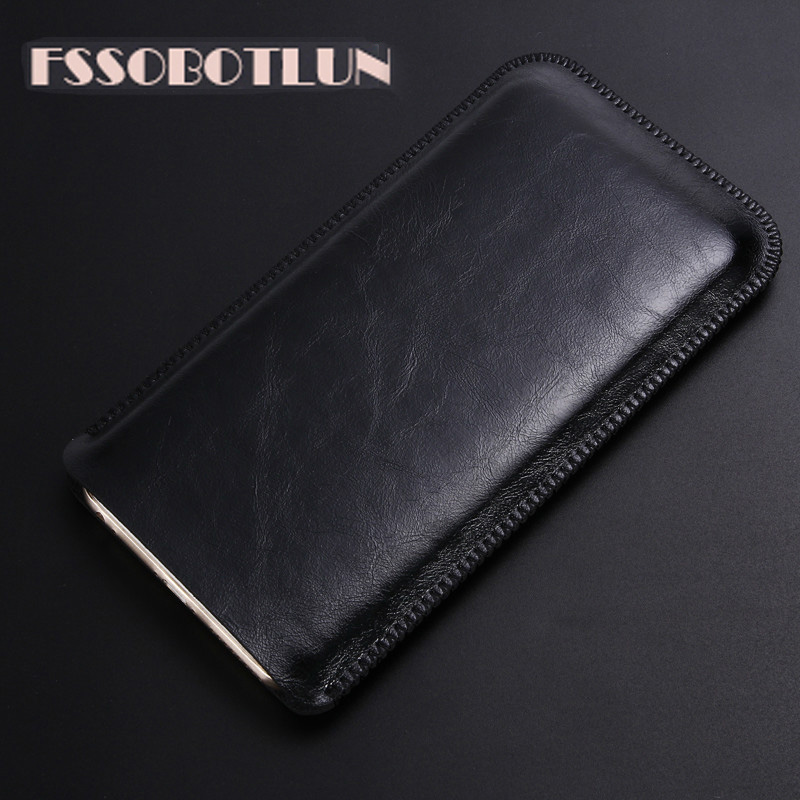 FSSOBOTLUN For <font><b>OUKITEL</b></font> <font><b>K13</b></font> <font><b>Pro</b></font> <font><b>Case</b></font> super slim sleeve pouch cover,Luxury microfiber Leather <font><b>Cases</b></font> Phone bag image
