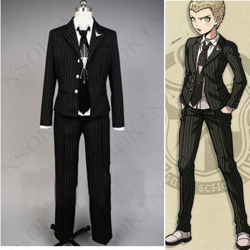 Anime Danganronpa Super Cosplay Kuzuryuu Fuyuhiko Costume Custom Made
