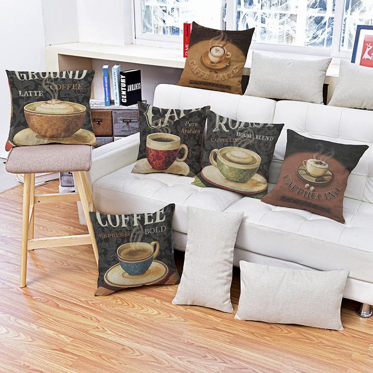 ottieni online a basso prezzo tazza di caffè sedie ... - Sedia Rivestimento Tessuto Caffe