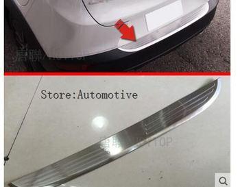 Araba Styling Dış paslanmaz çelik arka tampon Mazda CX-3 CX3 2016 2017 2018 Gövde Eşiği Itişme Koruyucu Aksesuarları