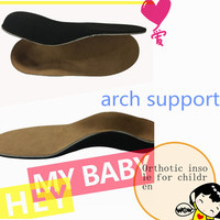 Arch Support Orthopetic Shoes Insert Insole For Baby Kids Children