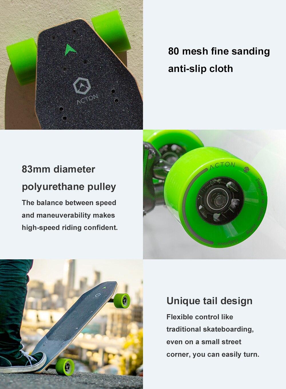 Xiaomi ACTON Smart Electric Skateboard-3