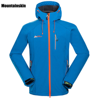 Winter Spring Men Outdoor Waterproof Jacket Softshell WindStopper Sports Camping Hiking Coats For Hunting Climbing Fishing