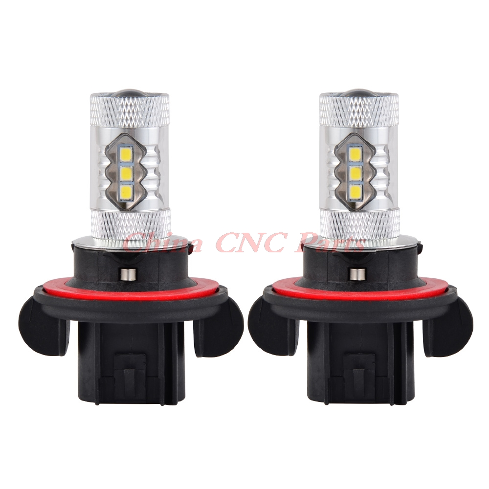 2pcs 80W Super White Headlight Bulbs Lamps For Polaris Ranger 800 900 Utility RANGER 4X4 CREW XP 800 900 RZR 570 800 EFI