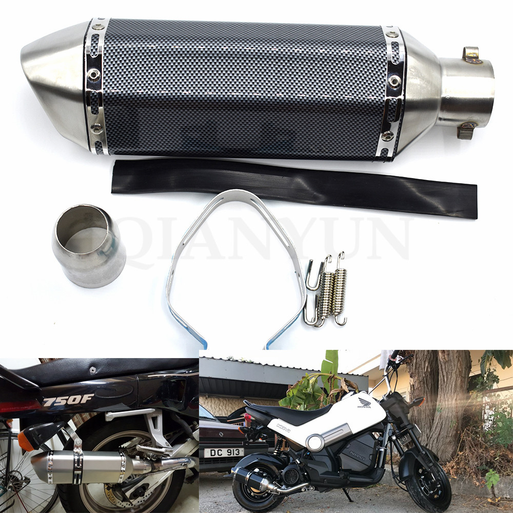 for Motorcycle parts Exhaust Universal 51mm Stainless Steel Motorbike Exhaust Pipe for HONDA CBR954RR CBR 954 RR CBR 954RRfor Motorcycle parts Exhaust Universal 51mm Stainless Steel Motorbike Exhaust Pipe for HONDA CBR954RR CBR 954 RR CBR 954RR