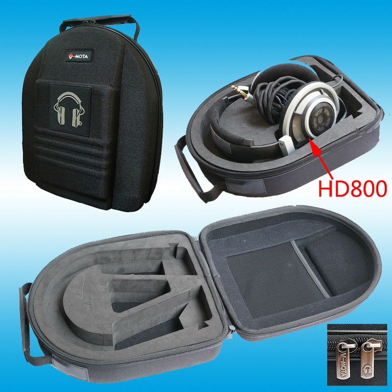 bilder für Vmota kopfhörer boxs für sennheiser hd800 hd700 hd650 hd598 hd600 hd558 und rätsel akustik dharma d1000 dk kopfhörer koffer