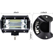 Offroad 5INCH 72W LED Work Light Bar Spotlight 12V 24V CAR TRUCK SUV BOAT ATV 4X4 4WD TRAILER WAGON PICKUP DRIVING LED LAMP