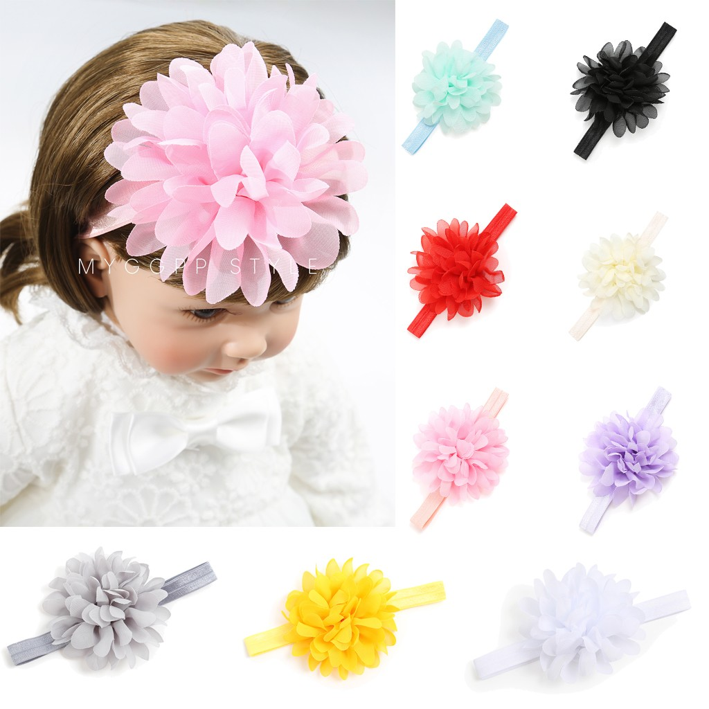 Fashion Cute Beauty Sweet Kids Baby Girl Headbands Hair Accessories Baby Turban Toddler Flower Hair Band Bandeau Bebes Fille