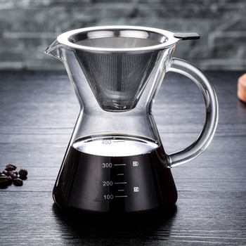 400ml Pour Over Coffee Maker  1