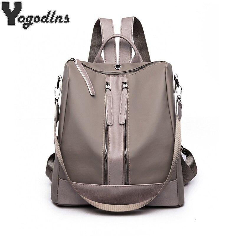 Adrette Mode Oxford Schule Rucksäcke Wasserdichte Frauen Große Kapazität Rucksack Für Jugendliche Schulter Tasche Reisetasche