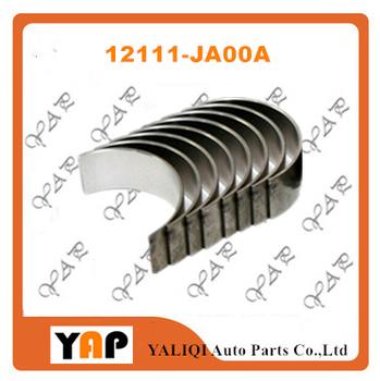 QR25DE STD korbowód łożyska do FITNISSAN E26 NV350 T31 x-trail QR25DE 2 5L L4 12111-JA00A 2010-2019 tanie i dobre opinie EAPENERGY Mechanizm korbowy 14cm 16cm 12cm 2500cc STD 12111-JA00A 4 CYLINDRY 0 2kg Aluminum alloy Conrod bearing