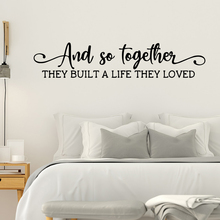 Hot and so together Wall Decal Art Vinyl Stickers For Kids Room Decoration Creative