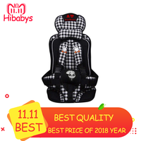 2018 New Children Safe Seat Adjustable Baby Safety Seat Child Foldable Chairs Updated Version for Kids Car Seats baby Security