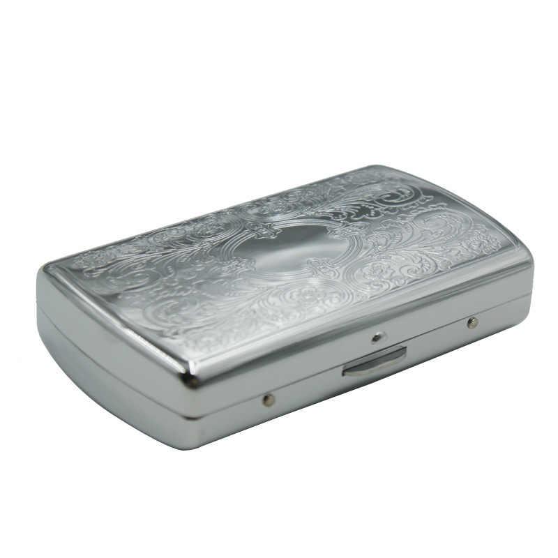 Cigarette Accessories Tobacco Box Storage Pocket Size  Cigarettes Case For  Papers Holder Tobacco Tin Pattern Rand 3618